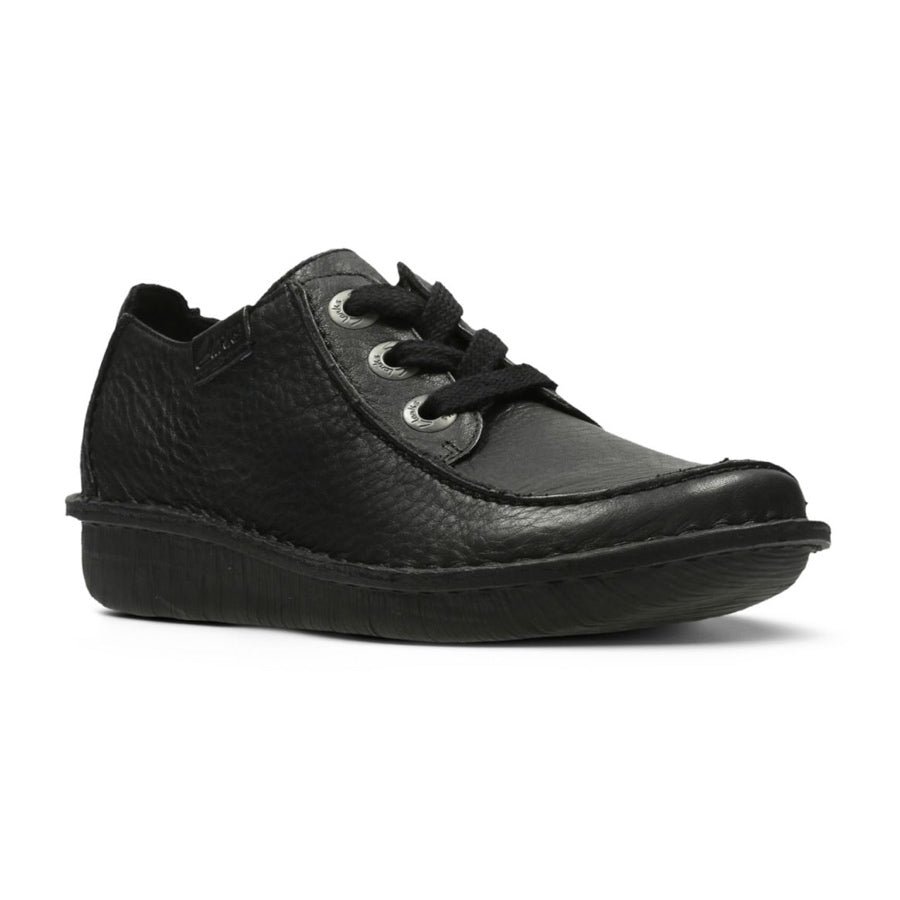 Women's Clarks Funny Dream Wedge Shoes BLack