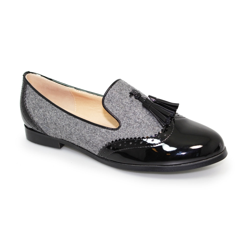 Women's Lunar Francine Slip On Loafer Grey
