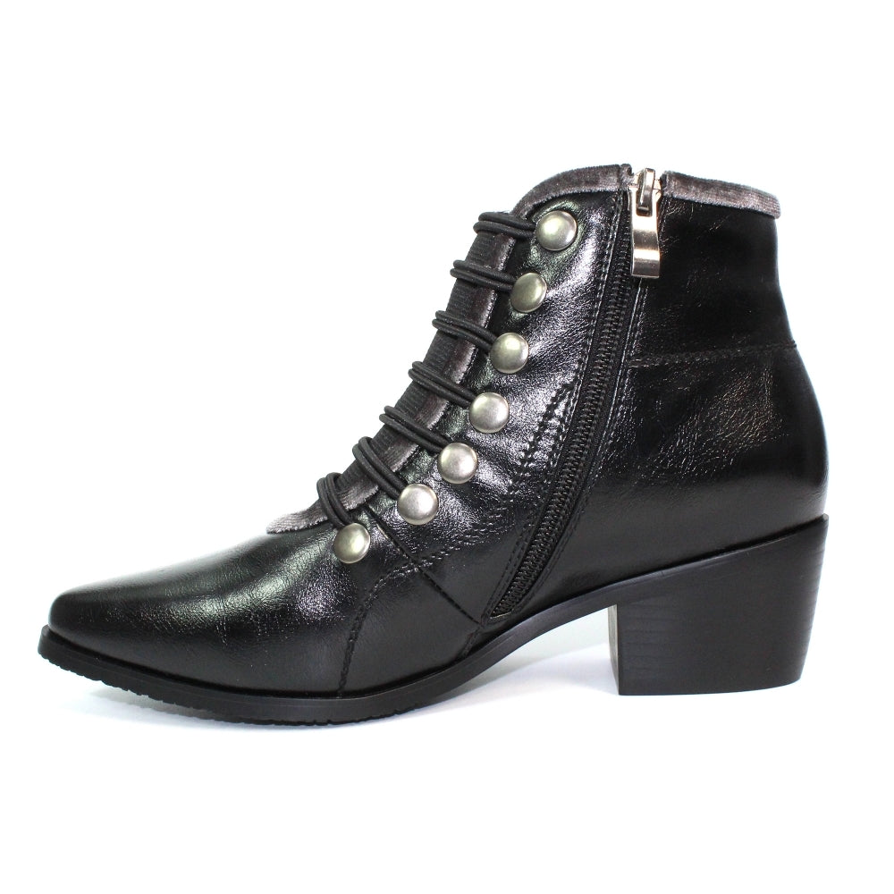 Women's Lunar Napoleon Ankle Boot Black