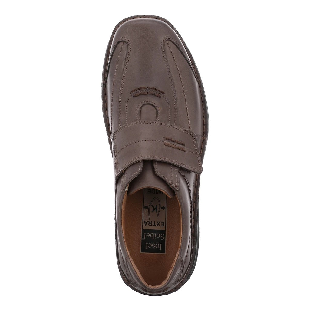 Men's Josef Seibel Alec Slip On Shoe Moro Brown
