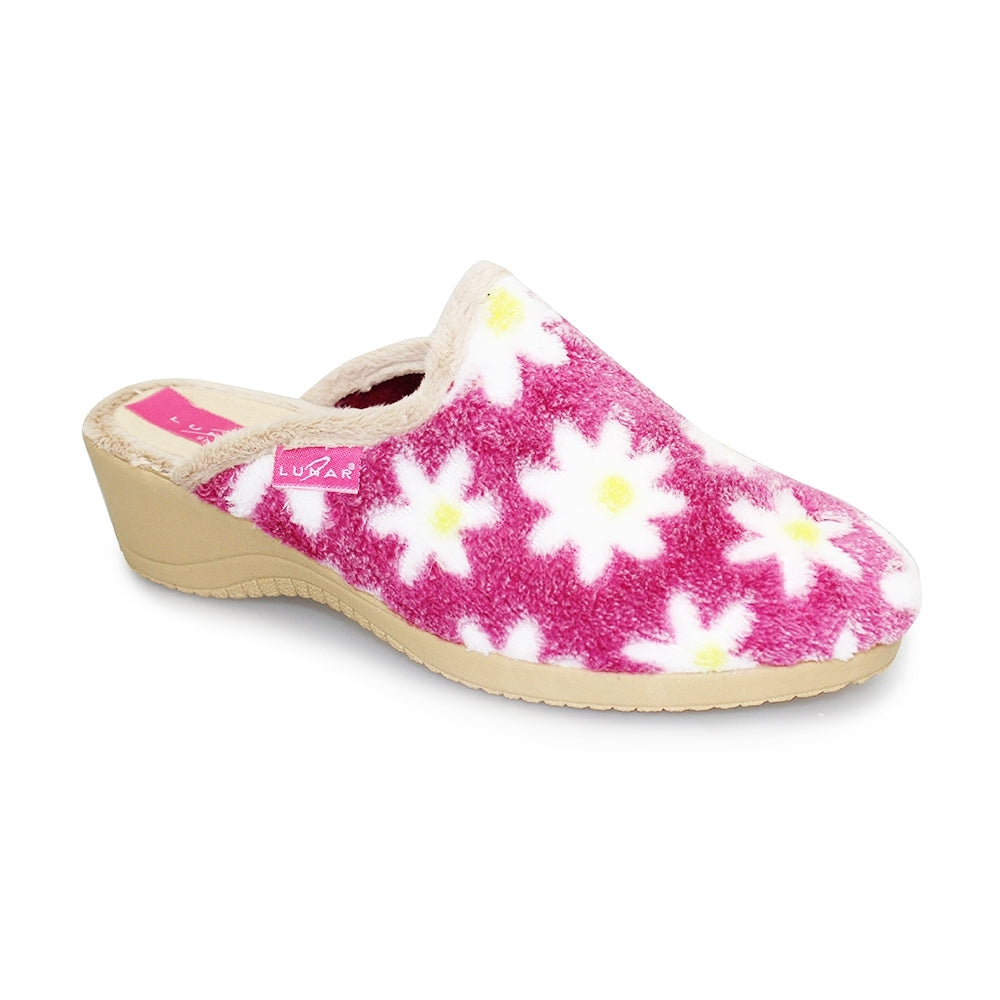 Women's Lunar Veuve Flower Slipper Pink