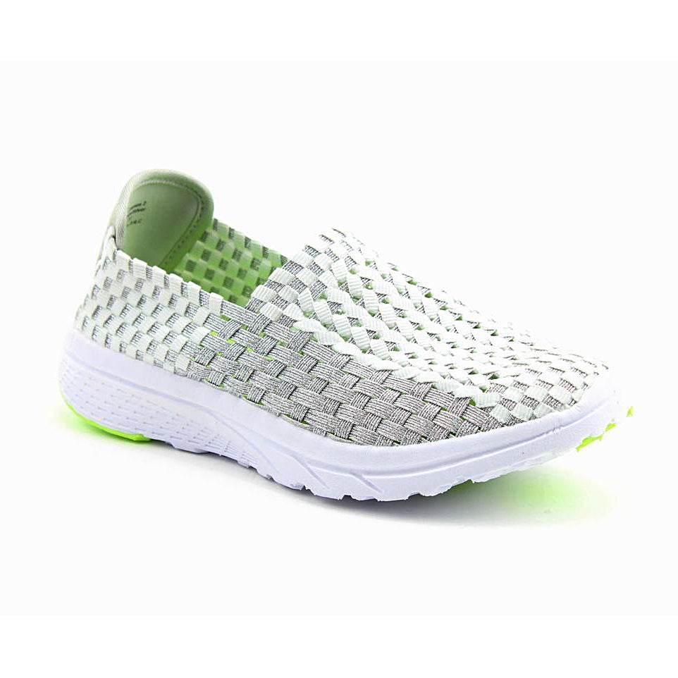 Women's Heavenly Feet Cosmos 2 Elastic Shoe White Multi