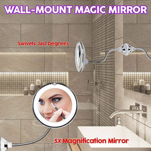 Wall-Mount Magic Mirror