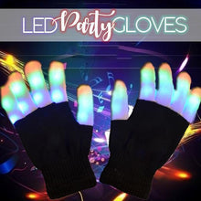 Load image into Gallery viewer, LED Party Gloves