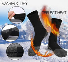 Load image into Gallery viewer, Extra-Insulated Fiber Heat Socks