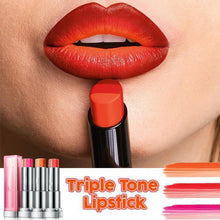 Load image into Gallery viewer, Triple Tone Lipstick