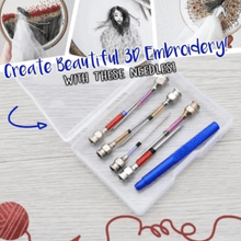 Load image into Gallery viewer, Crafters 3D Punch Needle Embroidery Set