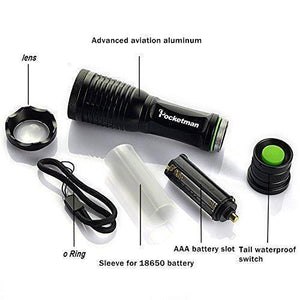 Ultra-Bright LED Tactical Flashlight
