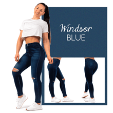 Load image into Gallery viewer, Shaping Slim Ripped Jeans