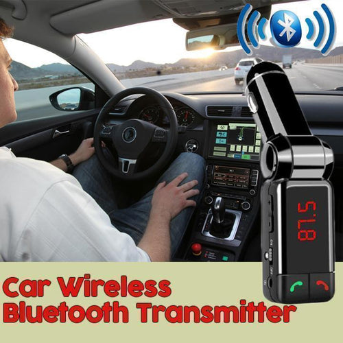 Car Wireless Bluetooth Transmitter