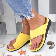 Load image into Gallery viewer, Woman Comfy Platform Sandal Shoes