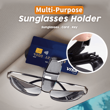 Load image into Gallery viewer, Multi-Purpose Sunglasses Holder