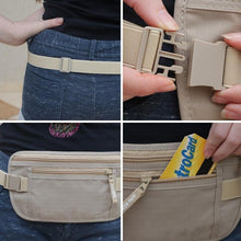 Load image into Gallery viewer, Travel Hidden Waist Pouch