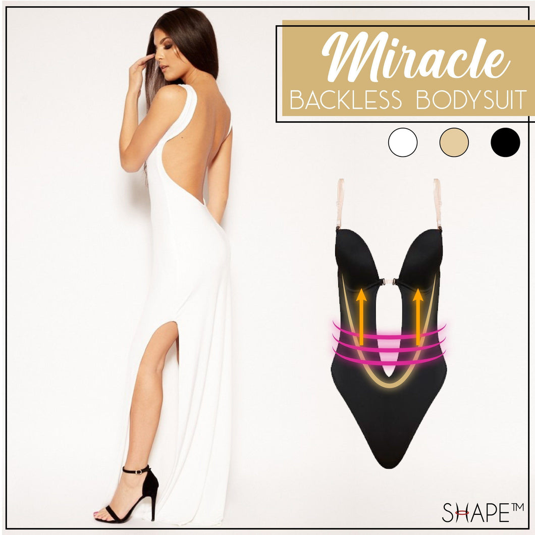 Miracle Backless Bodysuit