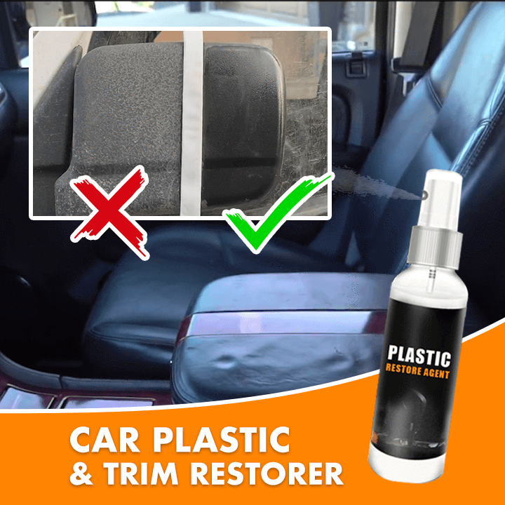 Car Plastic & Trim Restorer