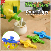 Load image into Gallery viewer, Mini Seal & Pour Clips (3pcs)