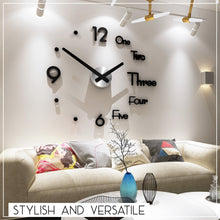 Load image into Gallery viewer, Modern 3D Wall Clock