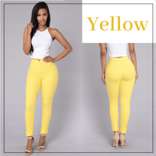 Load image into Gallery viewer, Skinny Stretch Pull-On Jeggings