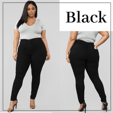Load image into Gallery viewer, Skinny Stretch Pull-On Jeggings For Curvy
