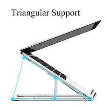 Load image into Gallery viewer, Foldable Aluminum Alloy Notebook Stand