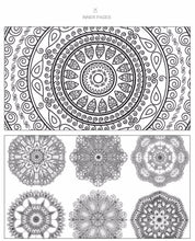 Load image into Gallery viewer, Relaxing Mandala Coloring Book