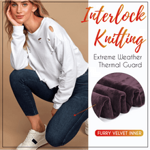 Load image into Gallery viewer, Fleece-Lined Denim Leggings