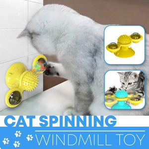 Cat Spinning Windmill Toy