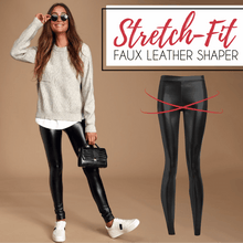 Load image into Gallery viewer, Stretch-Fit Faux Leather Shaper