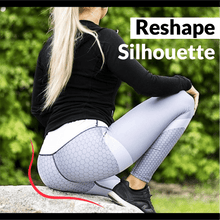 Load image into Gallery viewer, Anti-Cellulite Mesh Pattern Leggings