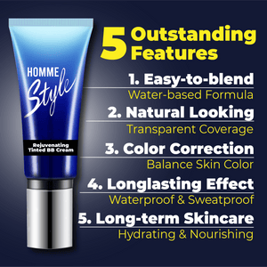 Homme Rejuvenating Tinted BB Cream