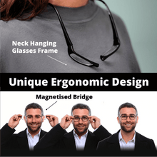 Load image into Gallery viewer, Magnetic Front Connect Reading Glasses