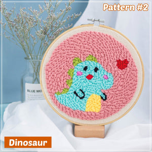 Crafters 3D Punch Needle Embroidery Set