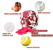 Load image into Gallery viewer, Detox Cleanse Bath Bomb
