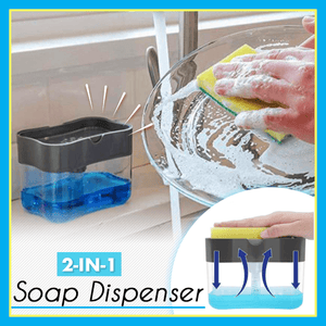 2-in-1 Soap Dispenser