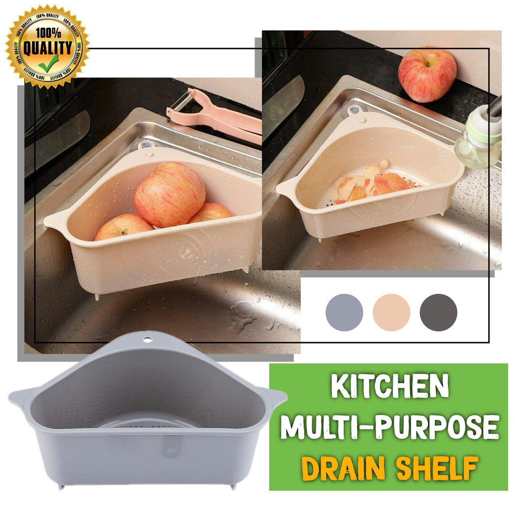Kitchen Multi-Purpose Drain Shelf
