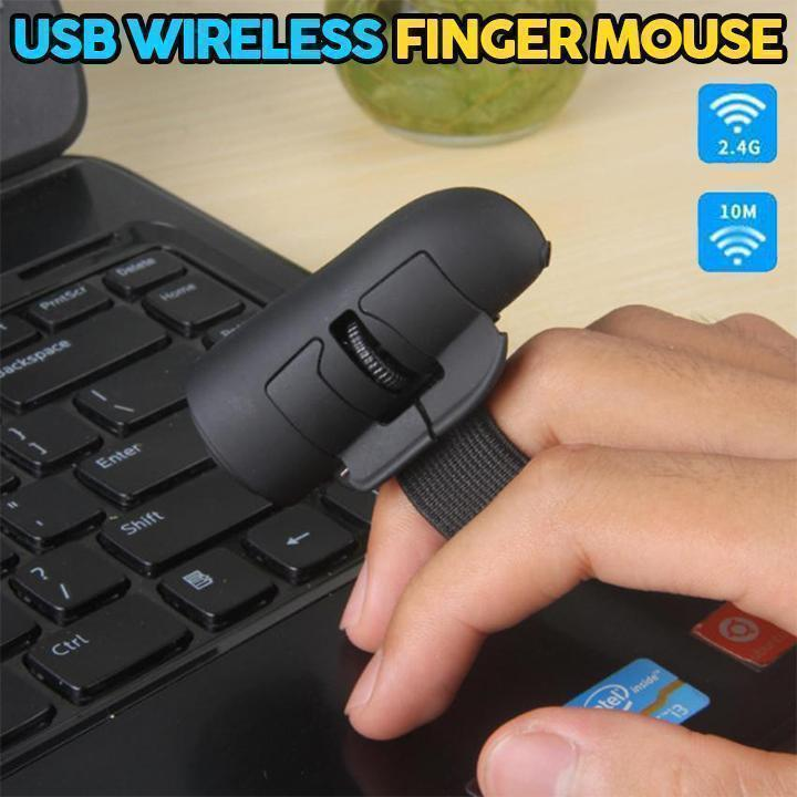 USB Wireless Finger Mouse