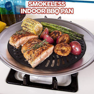 Smokeless Indoor BBQ Pan