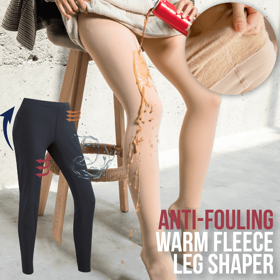 Anti-fouling Warm Fleece Leg Shaper