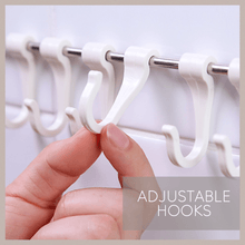 Load image into Gallery viewer, Adjustable 6 Hooks Kitchen Hanger