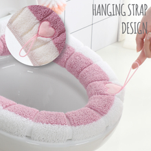 Load image into Gallery viewer, Warm & Comfy Toilet Seat Cover
