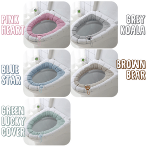 Warm & Comfy Toilet Seat Cover