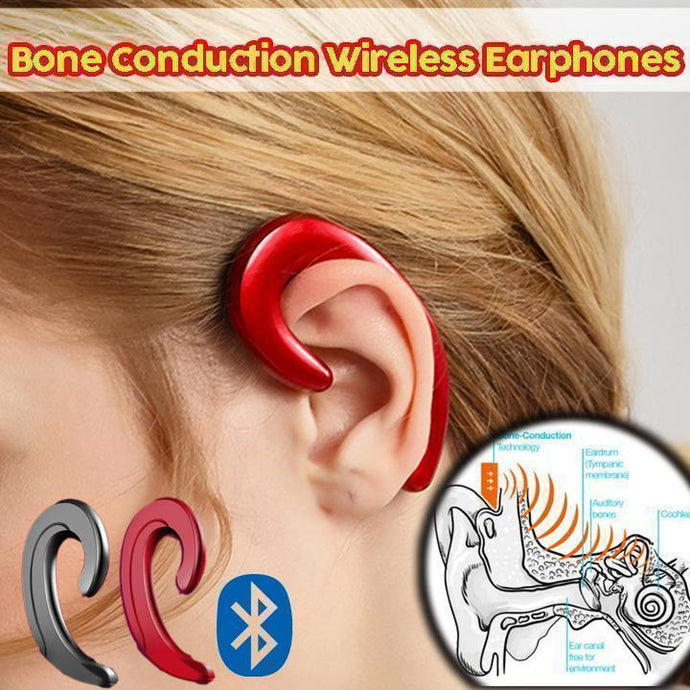Bone Conduction Wireless Earphones