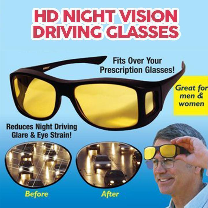 HD Night Vision Driving Glasses