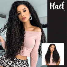 Load image into Gallery viewer, Natural Curly Hair Lace Front Wig
