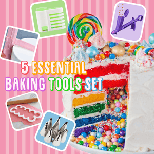 5 Essential Baking Tools Set