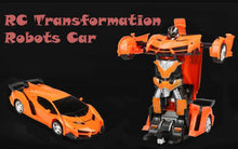 Load image into Gallery viewer, RC Transformation Robots Car