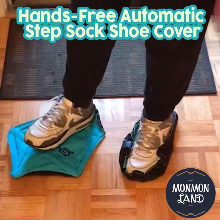 Hands-Free Automatic Step Sock Shoe Cover