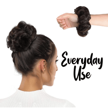 Load image into Gallery viewer, Instant Messy Rose Bun Scrunchie