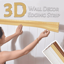 Load image into Gallery viewer, 3D Wall Decor Edging Strip