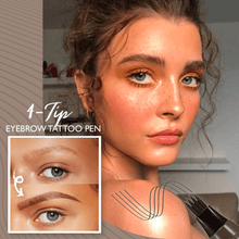 Load image into Gallery viewer, 4-Tip Eyebrow Tattoo Pen